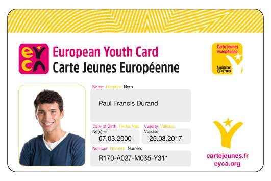 La Carte Jeune Européenne